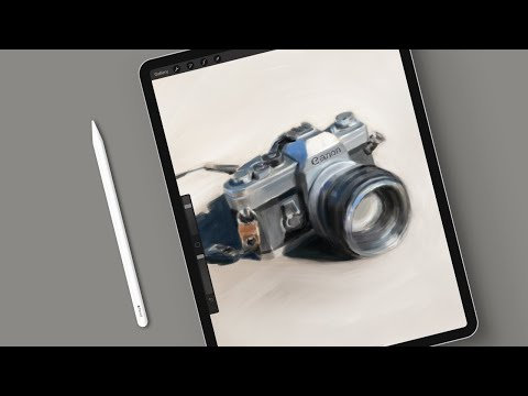Painting A Still Life In Procreate | Timelapse