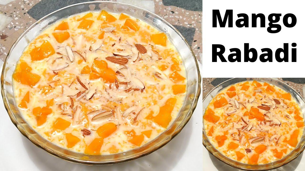 બનાવો બજાર જેવી મેંગો રબડી ફક્ત 2 વસ્તુ માંથી  / Mango Rabdi / Aam Ki Rabri Recipe