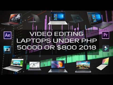 Top 10 Laptops Under PHP 50,000 For Video Editing And Content Creation