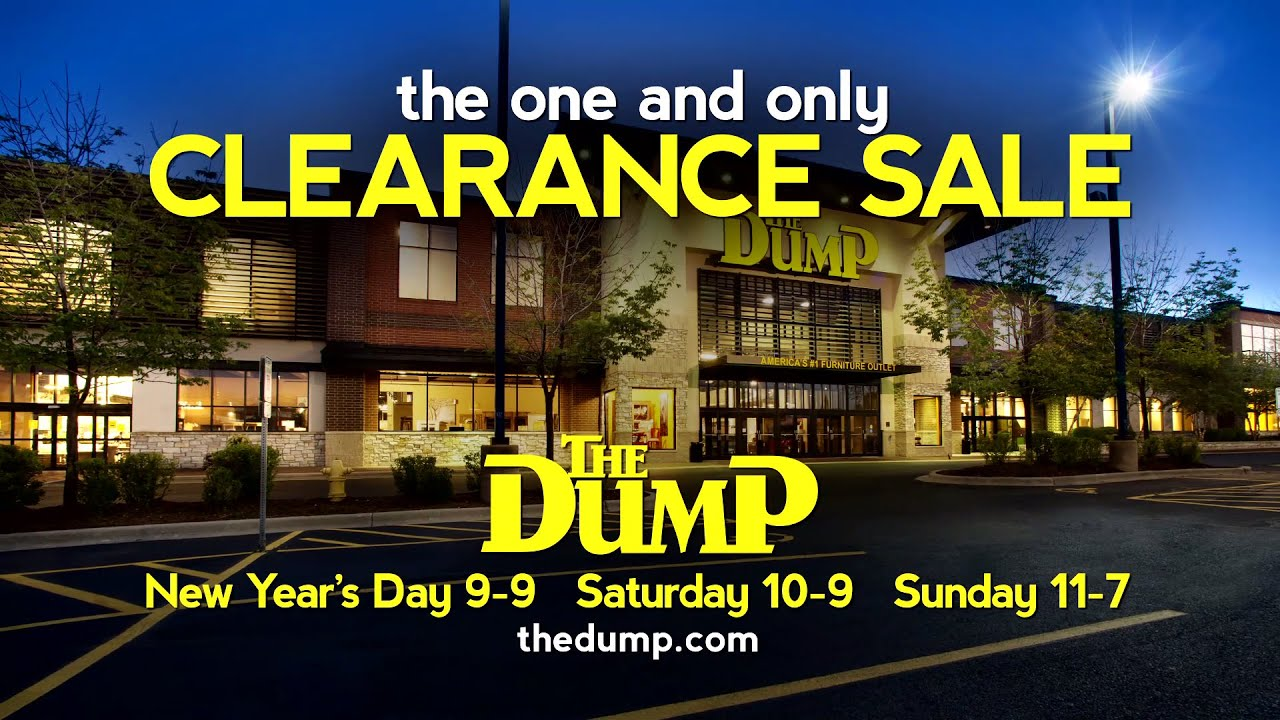 The One And Only Clearance Sale At The Dump   YouTube