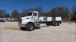 2009 Peterbilt 340 truck cab and chassis for sale at auction | bidding closes May 3, 2018
