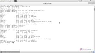 How to mount/unmount Local and Network Filesystem in Linux