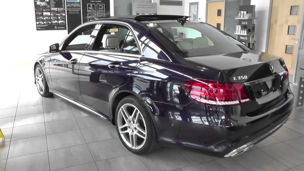 Mercedes Benz E CLASS E350 BlueTEC AMG Sport 4dr 7G Tronic U73083
