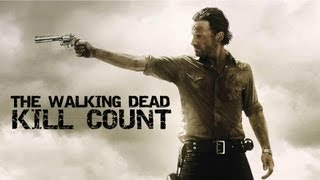 The Walking Dead | Walker/Zombie Kill Count | Season 1 and 2