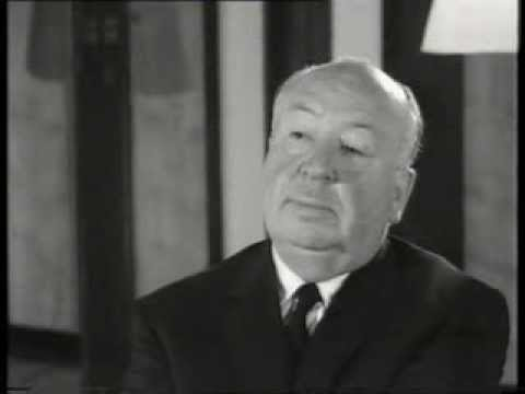Alfred Hitchcock 1960 BBC TV interview