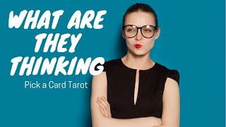 Who is thinking of you🤷🏼♀️ What do they think🤹🏼♂️ Pick a Card Tarot