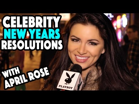 Celebrity New Year's Resolutions  The April Rose Files