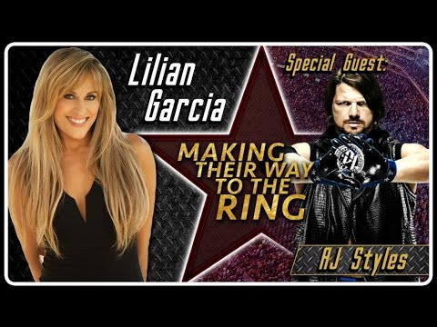 AJ Styles Interview | AfterBuzz TV's Lilian Garcia: Making Their Way To The Ring