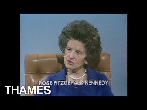 Rose Kennedy - Interview - 1974