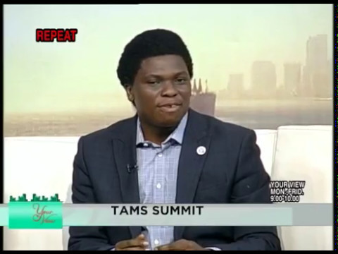 Interview on Your View for tams summit