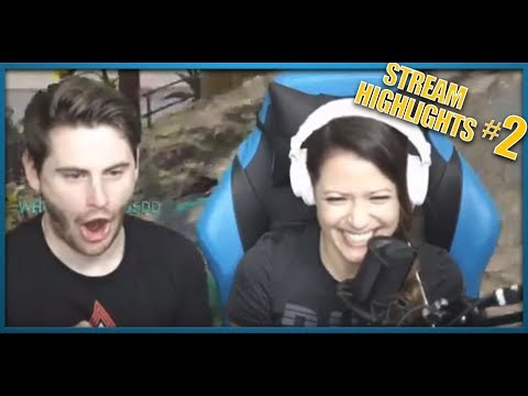 Stream Highlights #2! Motor Boating... Jump Scares... The Rage... GG