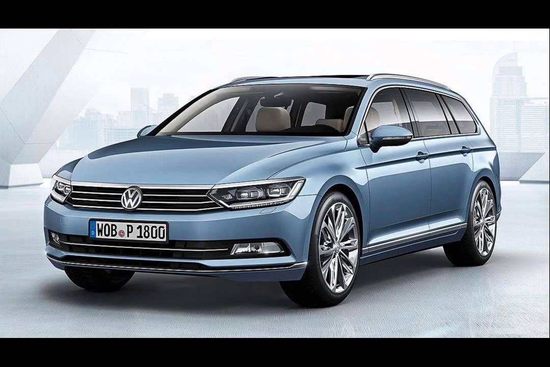 2015 model volkswagen passat wagon - YouTube