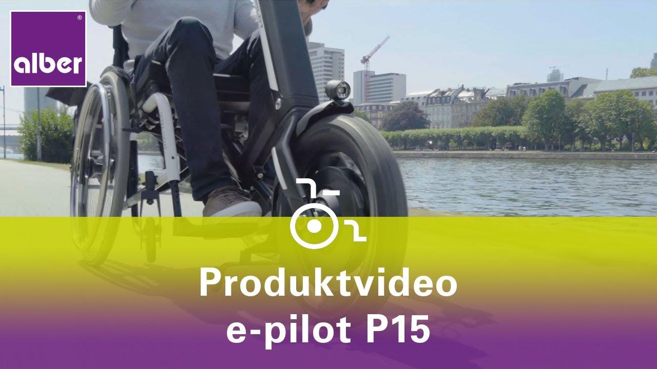video e-Pilot – Zuggerät für den manuellen Rollstuhl