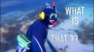 Found Buried GOLD Underwater Metal Detecting Treasure (ORCA TORCH) Owner Found