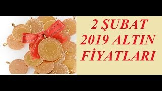 02,02,2019 Altın Fiyatları Dolar Fiyatları Euro Ne Kadar Sterlin Kaç Lira