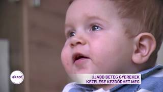 Újabb beteg gyerekek kezelése kezdődhet meg