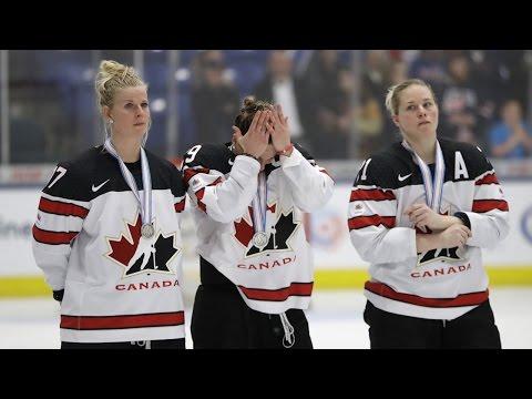 Canadian women's hockey team says loss will motivate them