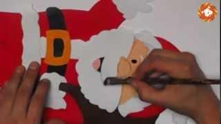 Pintado en microporoso - Tutorial manualidades en corrospum