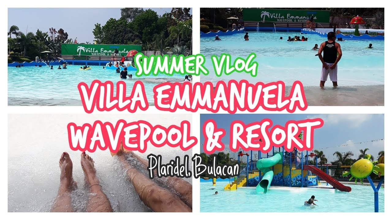 Villa Emmanuela Wavepool and Resort | Summer Vlog
