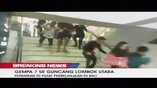 Download Video Detik-Detik Gempa 7 SR Guncang Lombok Hingga ke Bali, Berpotensi Tsunami MP3 3GP MP4
