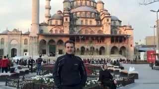 Merényi Tamás Törökország -- Isztambul 2014 április 3/1. rész
