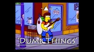 The Simpsons vs Paul Kelly - Dumb Things
