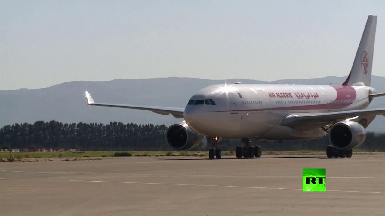 شاهد.. الجزائر تستقبل طائرة قادمة من معقل فيروس كورونا