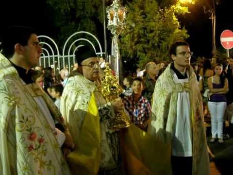 MALTA: Naxxar - Feast Nativity of the B.V. Mary 2009