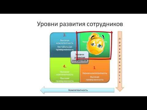 Обучение и развитие персонала. Ситуационное лидерство