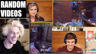xQc Reacts to Professional Overwatch Player DESTROYS Gamers (React) and Other Videos!