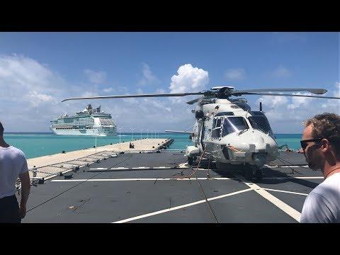 Toeristen weg uit Sint Maarten - alle kleuren, alle nationaliteiten