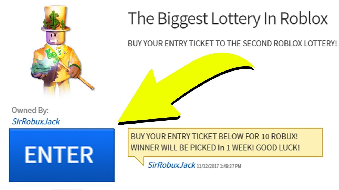 STARTING THE ROBLOX ROBUX LOTTERY! *ANYBODY CAN ENTER ...