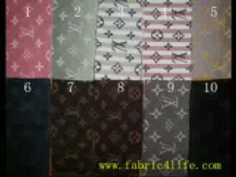 Louis Vuitton Car Interior Fabric