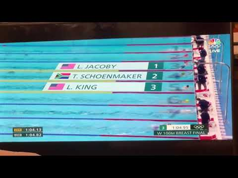 Lydia Jacoby Gets Gold Medal In Women's 100 M Breathstroke Tokyo Olympics 2020