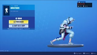 *NEW* INFECTIOUS EMOTE! August 18 NEW SKINS! - Fortnite Item Shop Live (Fortnite Battle Royale)
