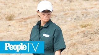 Felicity Huffman Seen In Her Prison Uniform For First Time During Visit With Her Family | PeopleTV