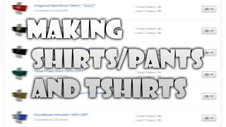 How to copy shirtspantst shirts on roblox and sell themget for Make and sell shirts