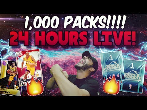 24 HOURS LIVE! 1,000 PACK OPENING on TRIPLETHREAT in NBA 2K19 MYTEAM! Road to 20K SUBS!