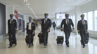Group Of Hampton University Alumni Pilots Reunite To Work For The Same Airline