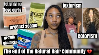 why i'm leaving the NATURAL HAIR COMMUNITY...