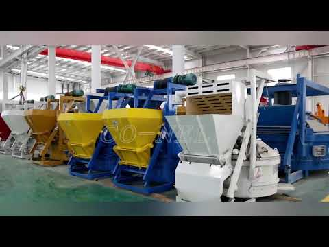 CO-NELE China Top Concrete Planetary Mixer Manufacturer