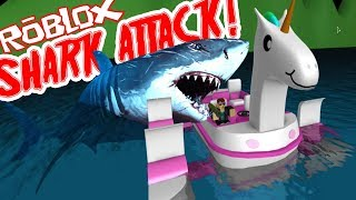 Twin Toys Plays Roblox: Shark Bite