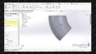 SolidWorks Parça   77  Uygulama 2