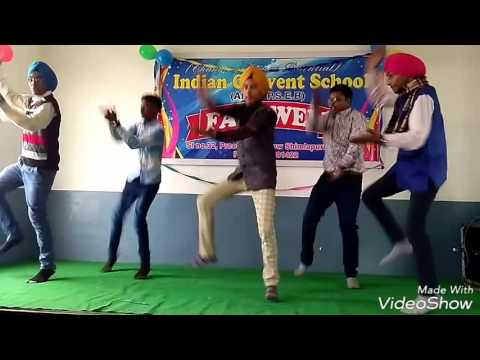 Bhangra performance radio DILJIT PUNJABI song
