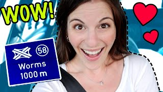 German City Names Are AMAZING!!!??? (American on Autobahn Germany)