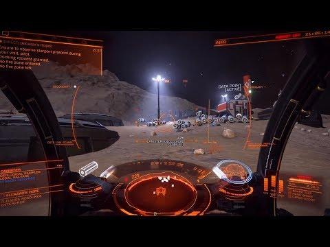 Elite Dangerous Horizons Planetary (NOT AN ALIEN!) Encounter