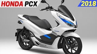 NEW 2018 Honda PCX Hybrid And Electric Scooter - High Output Battery