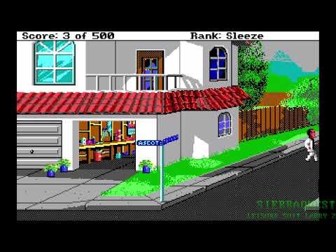 SierraQuest | Leisure Suit Larry 2 Part 1: Larry Lawnmower |