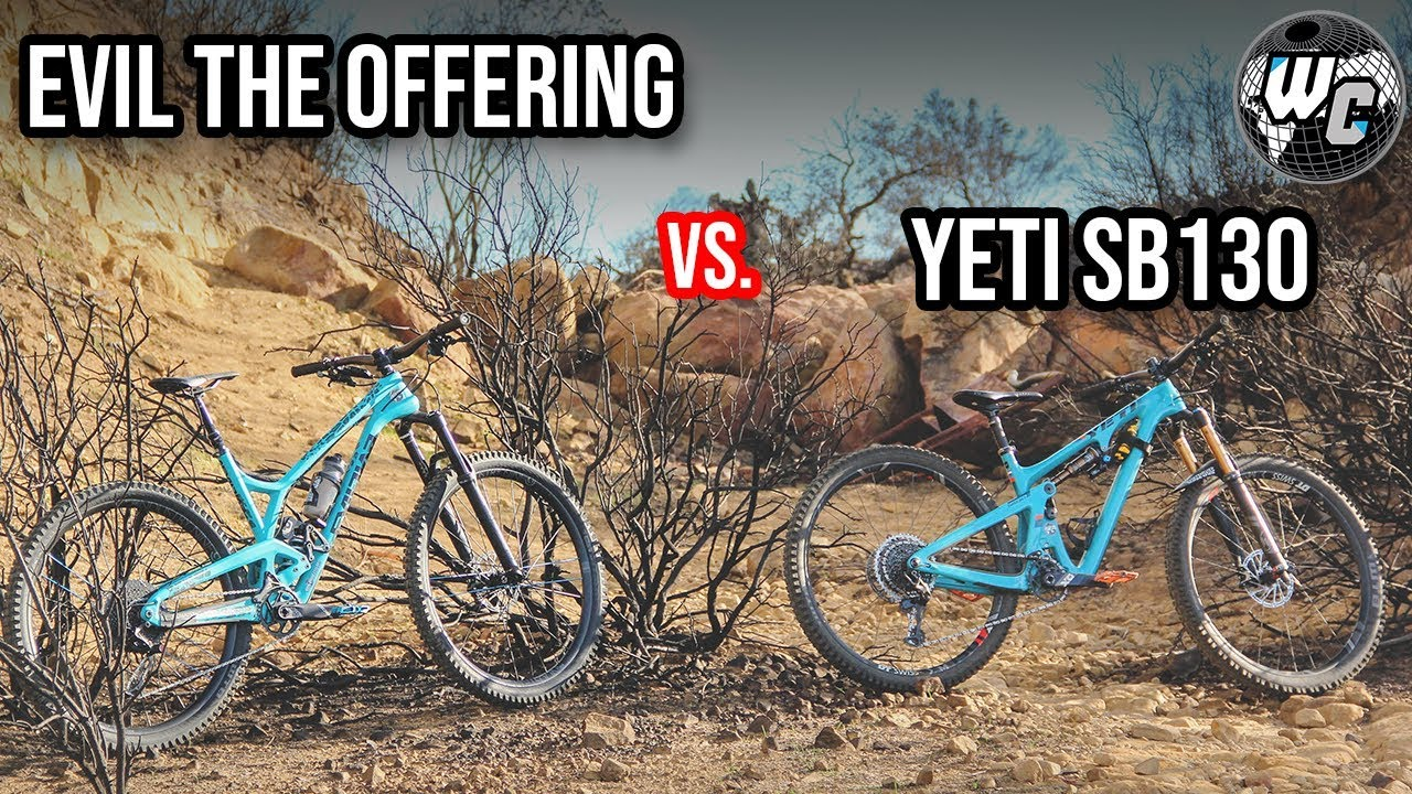 Yeti SB130 vs  Evil The Offering - Is One Better Than The Other?