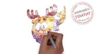 Смотреть видео Смешарики Лосяш онлайн(Смешарики. Как правильно нарисовать смешарика ЛОСЯША поэтапно. На самом деле легко и просто http://youtu.be/FDpXF0NQ5fo..., 2014-09-10T18:05:19.000Z)